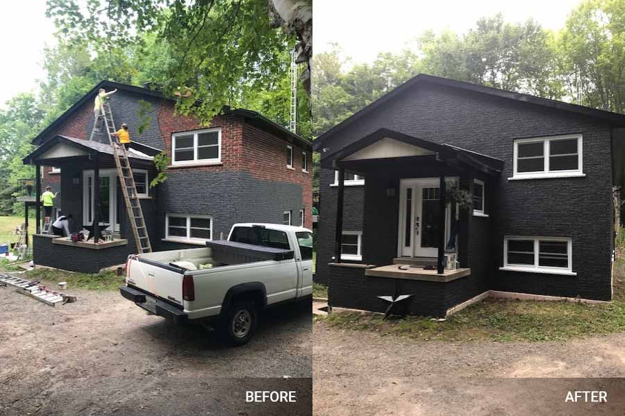 Exterior Painting work Image